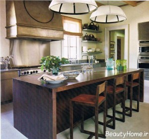 مدل آشپزخانه های جزیره ای
