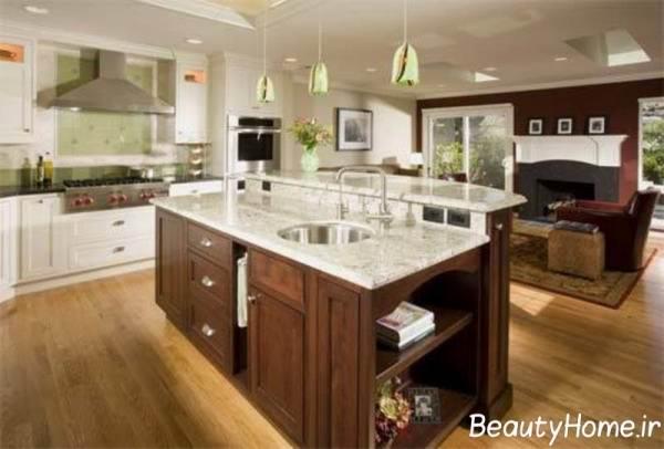 طراحی آشپزخانه های لوکس
