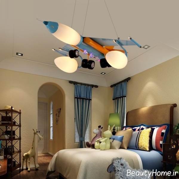مدل لوستر اتاق خواب کودک