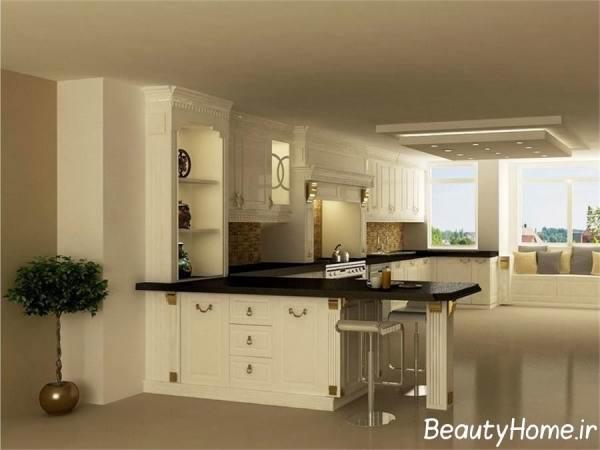 مدل های کابینت سفید آشپزخانه