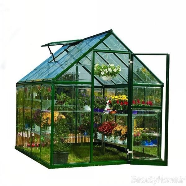 چگونگی ساخت و دکوراسیون گلخانه های خانگی