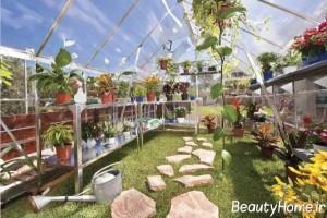 نمونه هایی از زیباترین گلخانه های بزرگ