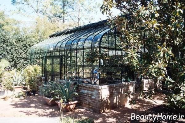 جدیدترین نمونه گلخانه های خانگی با طراحی خلاقانه