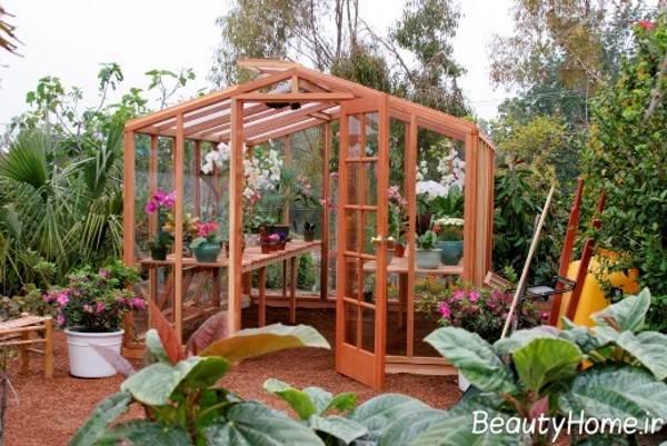 ساخت گلخانه
