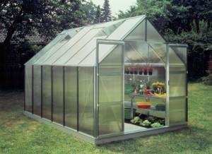 انواع پوشش در نمونه گلخانه های خانگی