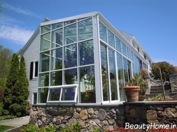 گلخانه های شیشه ایی بزرگ