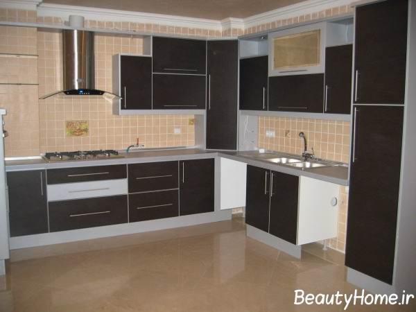 کابینت فلزی برای آشپزخانه های بزرگ