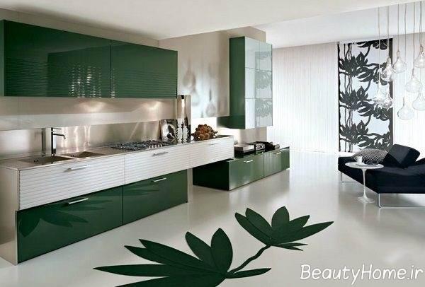 کابینت فلزی برای آشپزخانه های کوچک