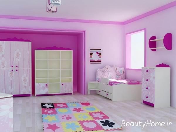 دیزاین اتاق خواب دخترانه