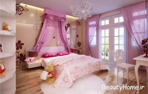 دکوراسیون و تزیین اتاق خواب دختران