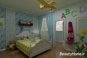 طراحی متفاوت و خلاقانه اتاق خواب دخترانه