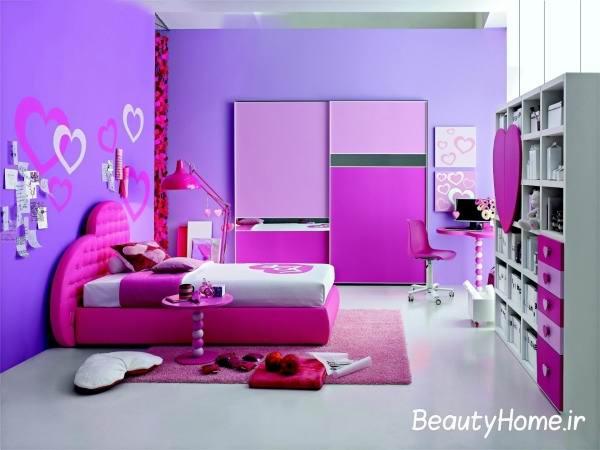 مدرن ترین طرح ها برای دیزاین اتاق خواب دخترانه