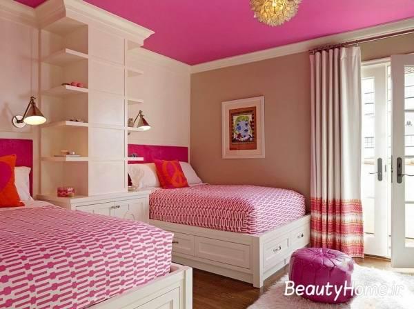 ایده های جدید طراحی اتاق خواب دخترانه