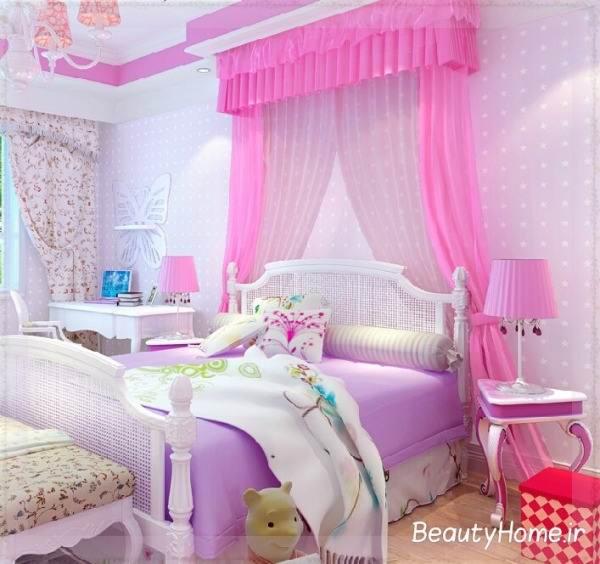 نحوه چیدمان وسایل در اتاق خواب دخترانه