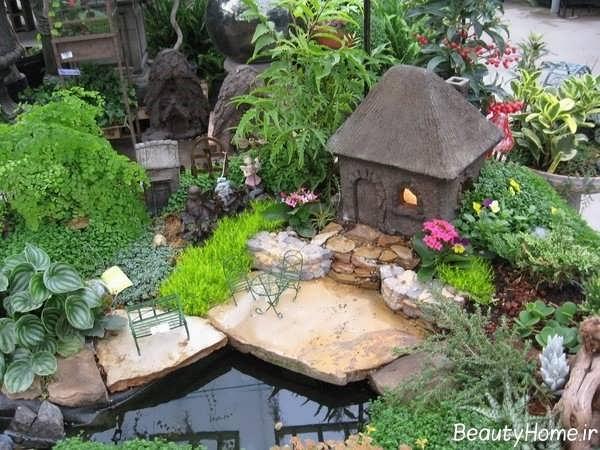 تزیین باغچه با ایده های بکر و جالب