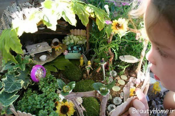 تزیین باغچه با گل آفتابگردان