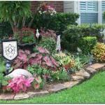 تزیین باغچه با ایده های خلاقانه و بکر