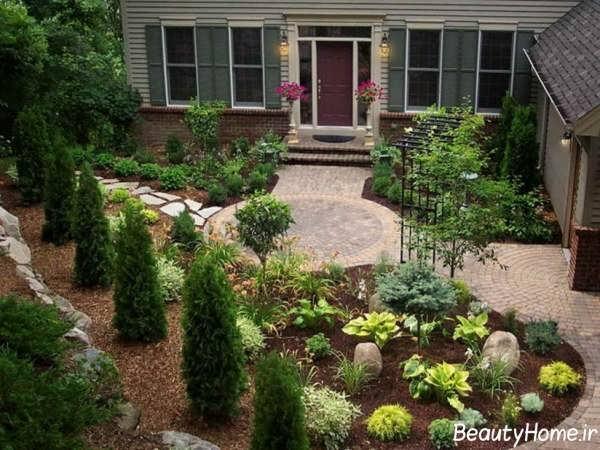 تزیین حیاط و باغچه
