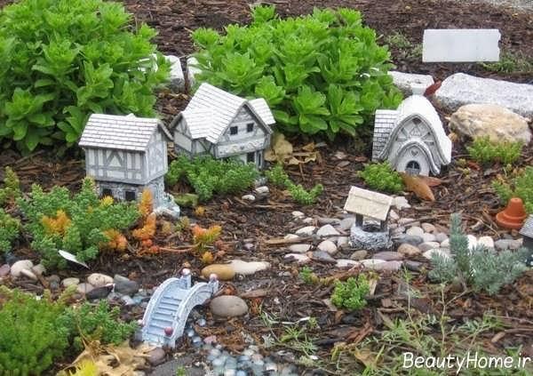 تزیین شیک و جذاب باغچه