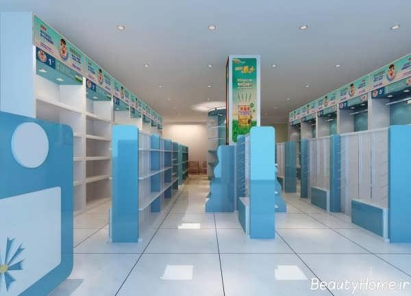طرح های دکوراسیون های متنوع برای مغازه ها