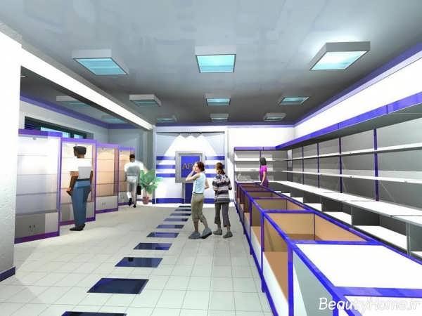 برترین مدل های طراحی دکوراسیون داخلی مغازه