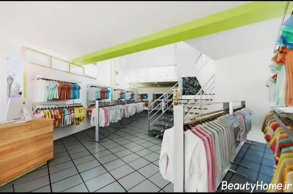 دکوراسیون داخلی مغازه پوشاک