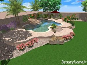 طراحی حیاط با نرم افزارهای سه بعدی