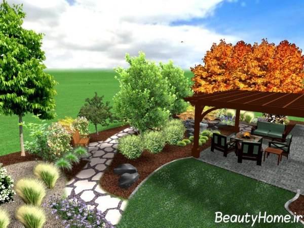 تزیین و زیباسازی فضای سبز با نرم افزار های سه بعدی