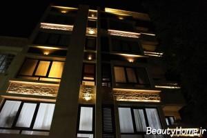جایگاه نورپردازی نمای خارجی ساختمان ها در معماری