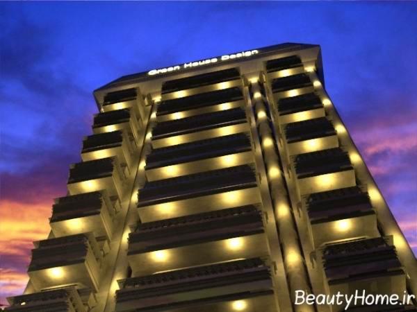 جدیدترین نورپردازی آپارتمان ها