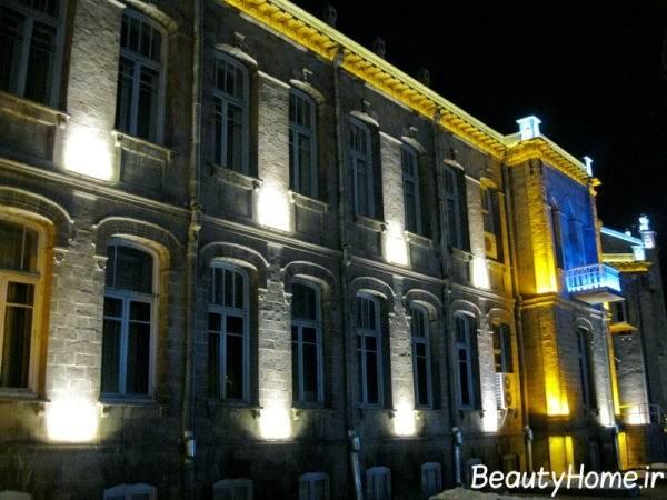 جدیدترین ایده های نورپردازی نمای خارجی ساختمان ها