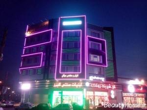 طرح های مختلف برای نورپردازی ساختمان های مدرن