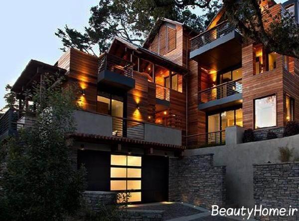 ایده های جدید از نورپردازی نمای خارجی ساختمان ها