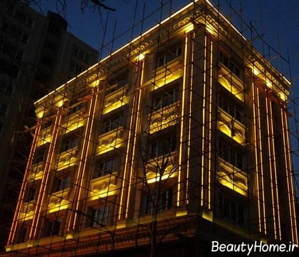 شیک ترین نورپردازی خانه های مسکونی