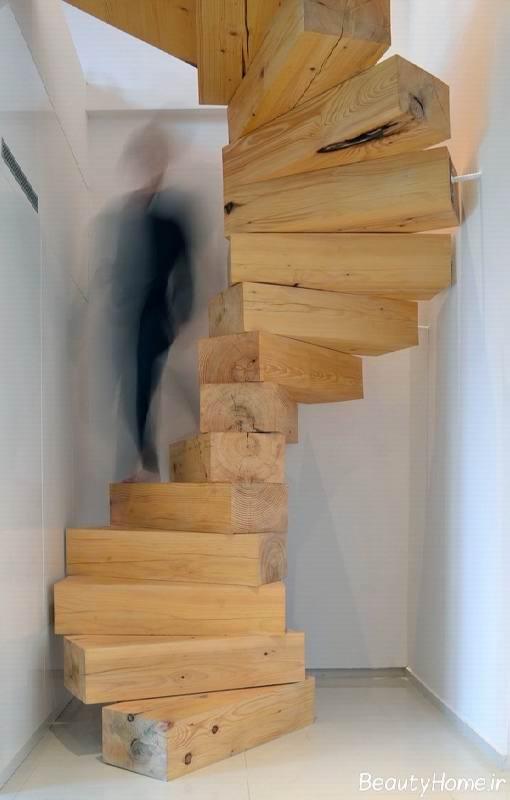 نمونه راه پله های بدون حفاظ