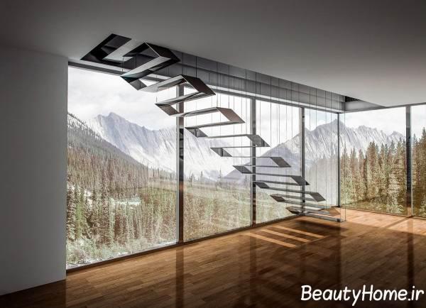 ایده های طراحی راه پله های شیک