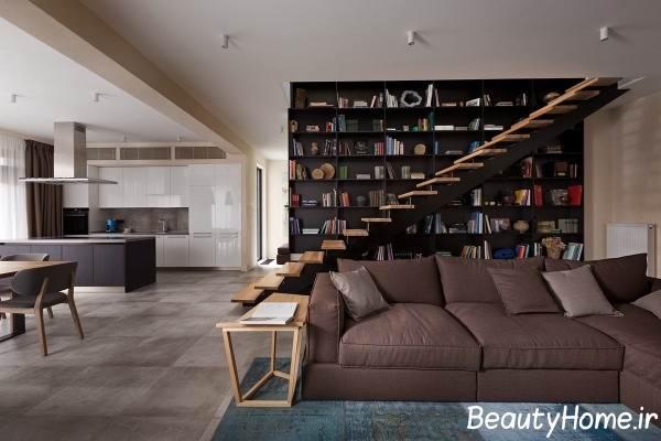 طراحی راه پله برای داخل خانه