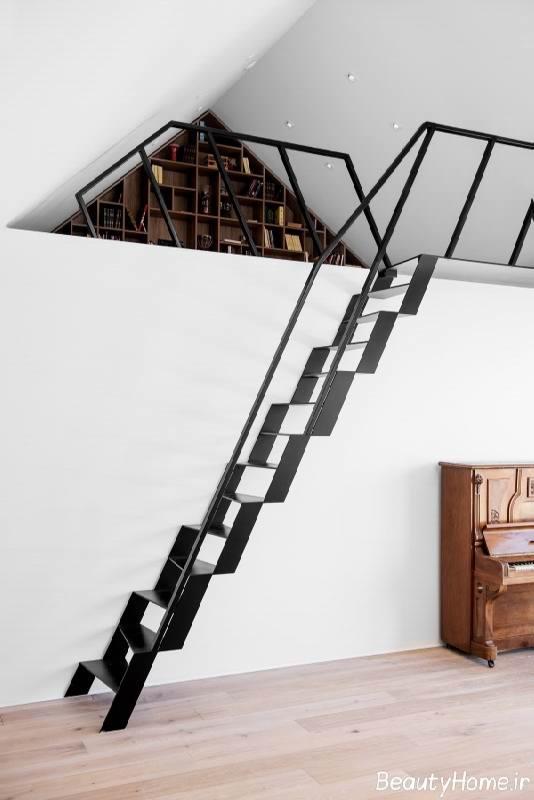 طراحی راه پله های کوچک