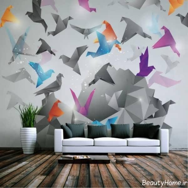 کاغذ دیواری زیبا پوستری