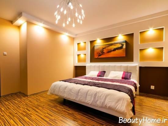 اهمیت نورپردازی در زیبایی اتاق خواب