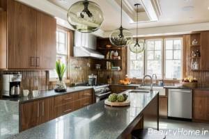طراحی آشپزخانه عروس با ایده های شیک و مدرن