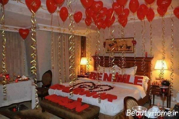 ایده های جدید و شیک تزیین اتاق خواب عروس و داماد