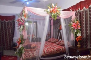 تزیین تخت عروس با ایده های جذاب و زیبا