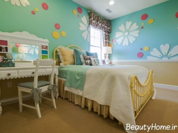 مناسب ترین رنگ برای اتاق خواب کودک پسر