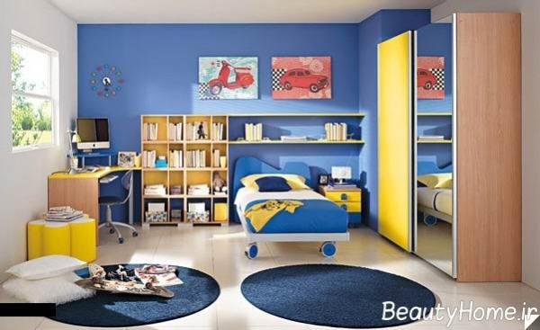 مضرات استفاده از رنگ آبی برای اتاق کودک