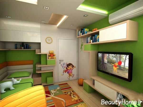 استفاده از رنگ های سرد و گرم در اتاق خواب کودکان