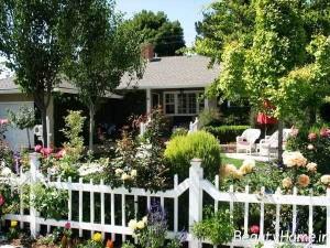 ایده های جدید از طراحی حیاط