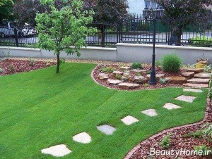 ایده های فضای سبز باغچه