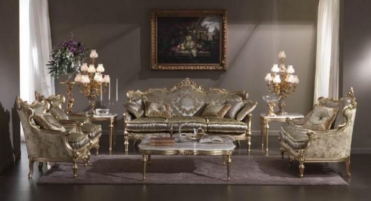 جدیدترین نمونه مبلمان برای خانه های سلطنتی