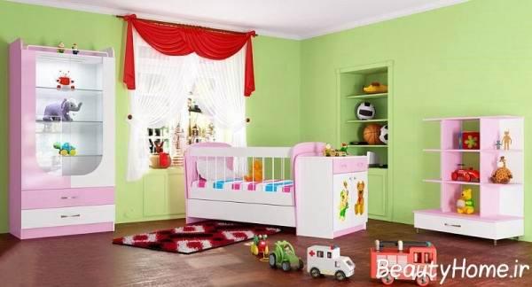 مدل سرویس خواب های بزرگ برای اتاق خواب بزرگ کودک